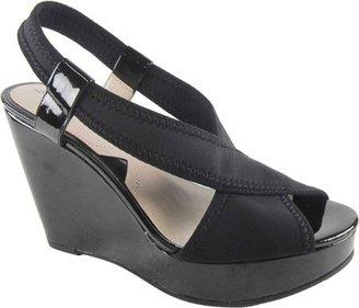 Adrienne Vittadini Footwear Women's Catri Wedge Sandal $28.45 thestylecure.com