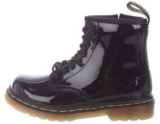 Dr. Martens Kids Kids' 1460 Patent Leather Boots