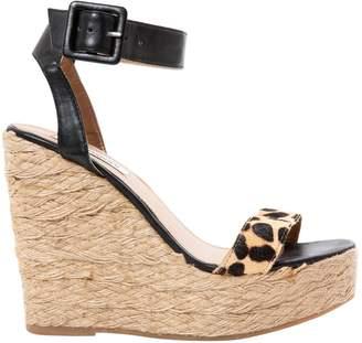 Steve Madden Pony-style calfskin sandals
