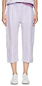 Paradised PARADISED MEN'S STRIPED COTTON BEACH PANTS-LILAC SIZE S