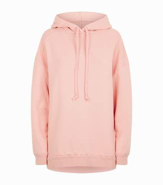 A Gold E Agolde High Low Hoodie