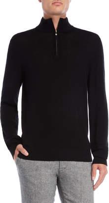 Qi Quarter-Zip Sweater