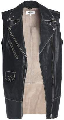 Maison Margiela Studded Leather Biker Vest