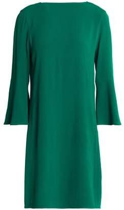 Sandro Paris Fluted Crepe Mini Dress