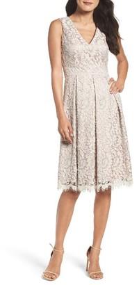 Women's Eliza J Lace Fit & Flare Dress $178 thestylecure.com