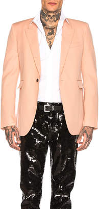 Saint Laurent Blazer in Pale Rose | FWRD