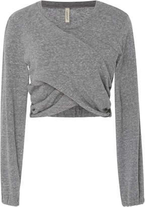 Lanston Wrap Crop Pullover