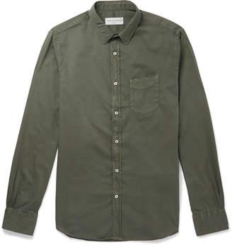 Officine Generale Cotton-Twill Shirt