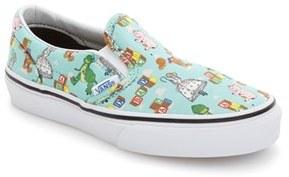 Vans x Disney Pixar ® Toy Story TM Toy Bin Classic Slip-On (Baby, Walker, Toddler, Little Kid & Big Kid)