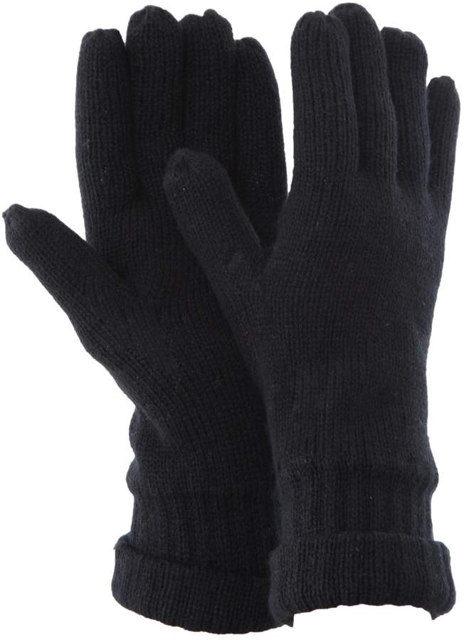 FLOSO Mens Thinsulate Knitted Winter Gloves (3M 40g) ( Fits All)