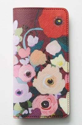 Anthropologie Picturesque Florals Travel Wallet