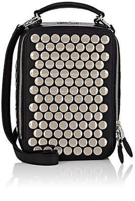 Sonia Rykiel Women's Pavé Parisien Studded Leather Shoulder Bag - Black