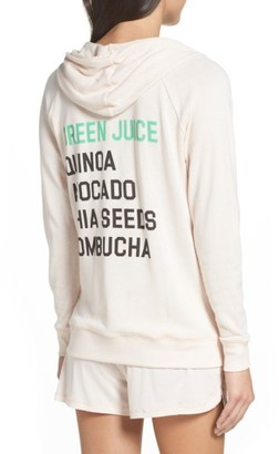 Women's Junk Food Healthy Eating Lounge Hoodie $75 thestylecure.com