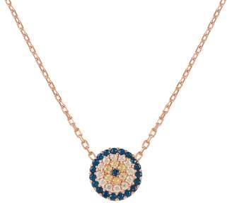 Rosegold Latelita - Evil Eye Necklace