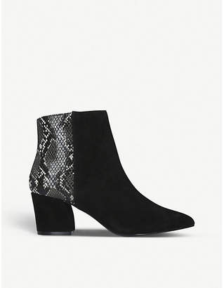 Steve Madden Missie suede ankle boots