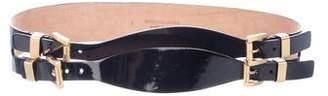 Michael Kors Patent Waist Belt