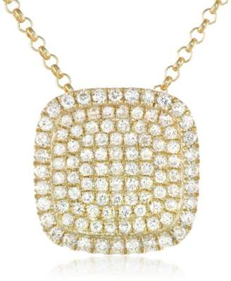 KC Designs Trinkets 14k Gold and Diamond Pave Pendant Necklace