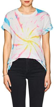 The Elder Statesman Women's Tie-Dyed Cashmere-Silk T-Shirt