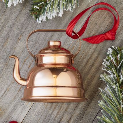 Sur La Table Copper Teapot Ornament