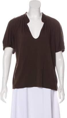 Dries Van Noten Short Sleeve Scoop Neck T-Shirt