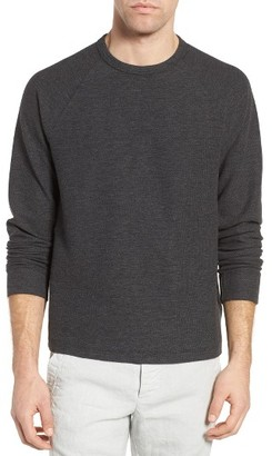 Men's James Perse Waffle Jersey Pullover $195 thestylecure.com