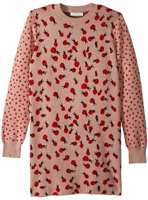 Stella McCartney Rita Ladybug Long Sleeve Sweater Dress Girl's Dress