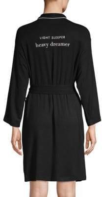 Kate Spade Long-Sleeve Robe