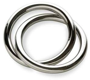 Alessi Oui Stainless Steel Napkin Ring