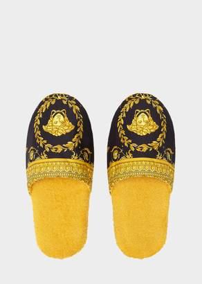Versace I Baroque Bath Slippers