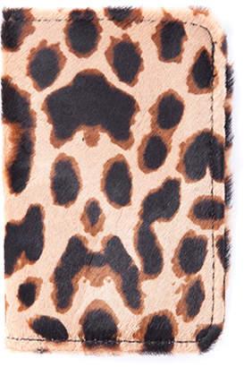 William Dubai Cheetah Print Hair Wallet