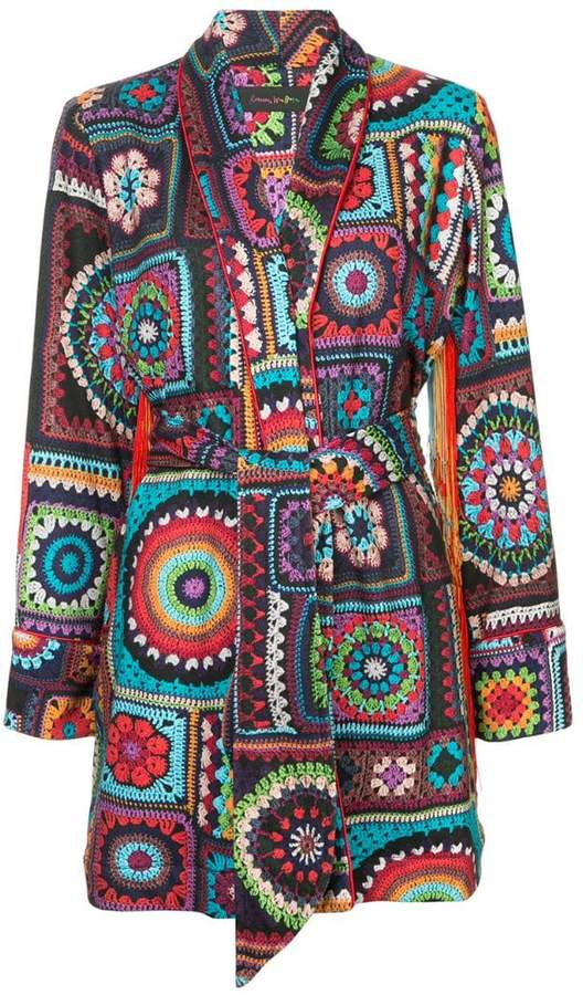 Cosmic Crochet jacket