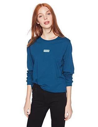Hurley Junior's Graphic Long Sleeve T Shirt