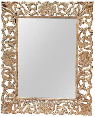 One Kings Lane Vintage Grand Carved Mirror - The Gilded Room