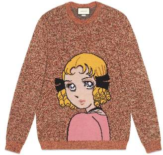 Gucci Sweater with Viva! Volleyball intarsia