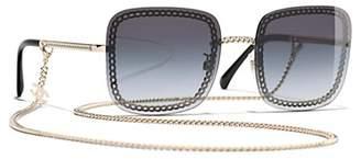 Chanel Square Sunglasses CH4244 Gold/Grey
