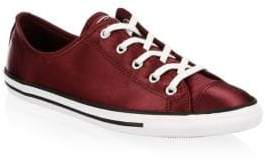 Converse Dainty Canvas& Satin Sneakers