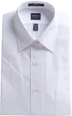 Arrow Regular Fit Short Sleeve Dress Shirt
