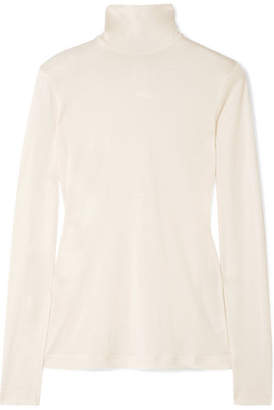 Akris Cashmere And Silk-blend Turtleneck Sweater