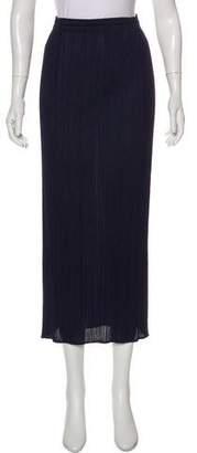 Pleats Please Issey Miyake Pleated Midi Skirt