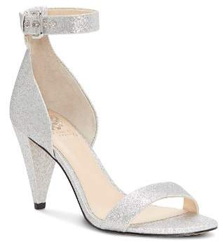 Vince Camuto Women's Cashane Shimmer Ankle Strap Sandals
