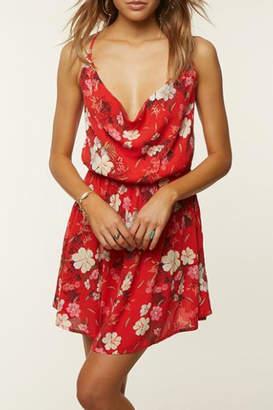 O'Neill Cowl-Neck Aloha Dress