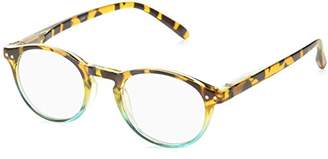 Peepers Unisex-Adult Book Club 934100 Round Reading Glasses
