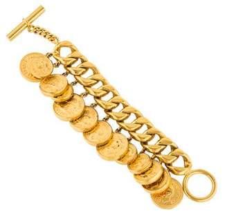 Chanel Logo Charm Bracelet