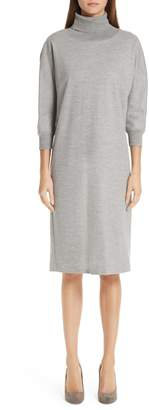 Max Mara Freda Wool & Cotton Dress