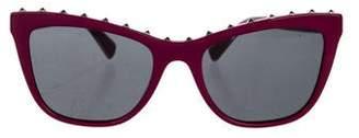 Valentino Rockstud Cat-Eye Sunglasses