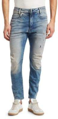 G Star D-Staq 3D Distressed Slim Jeans