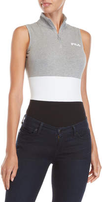 Fila Bianca Quarter-Zip Bodysuit