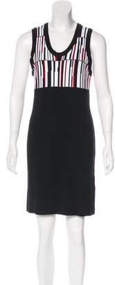 Edun Sleeveless Knit Mini Dress
