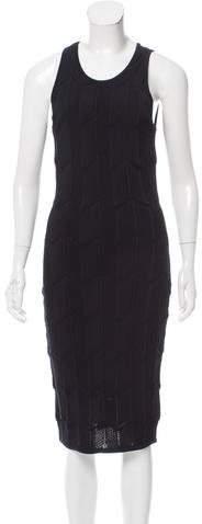 Torn by Ronny Kobo Sleeveless Bodycon Dress