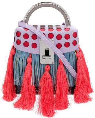 The Volon fringed tassel crossbody bag